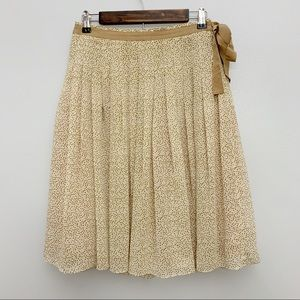 Banana Republic | Polka Dot Double Lined Skirt